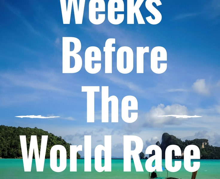 Two weeks Until The World Race Begins!