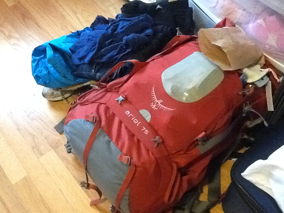 World Race, Travel, Backpacking, Backpack, Adventure, Packing list, Packing, Osprey Ariel 75