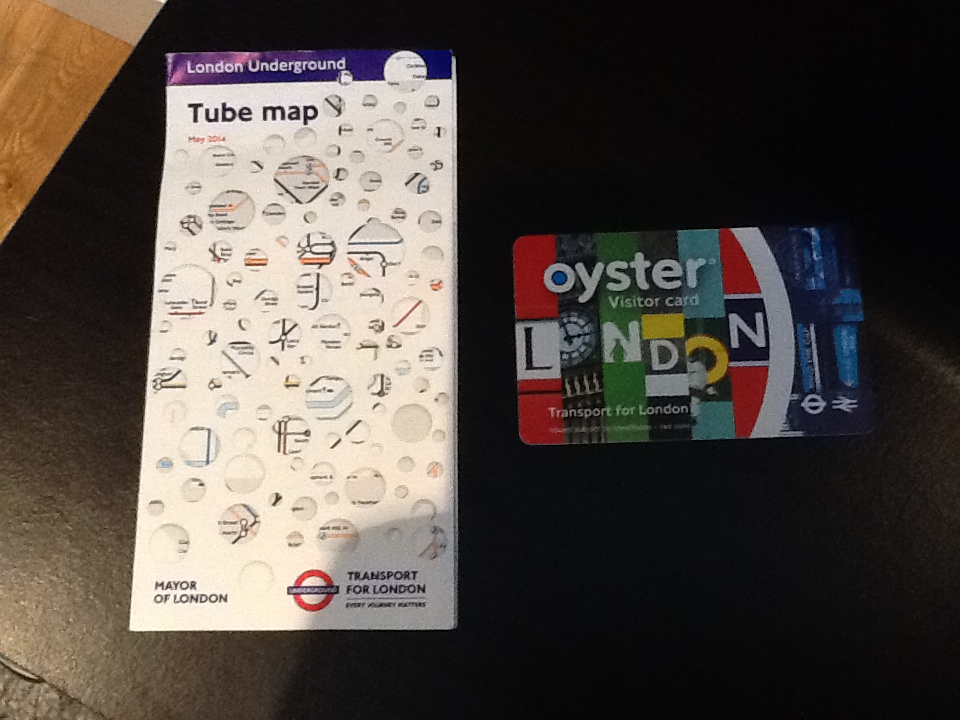 London adventures, Oyster card, tube map, travel, wanderlust