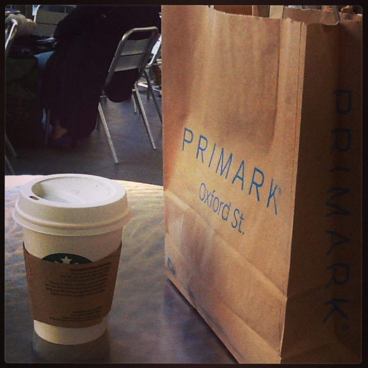 London adventures, Primark, Starbucks, travel, wanderlust