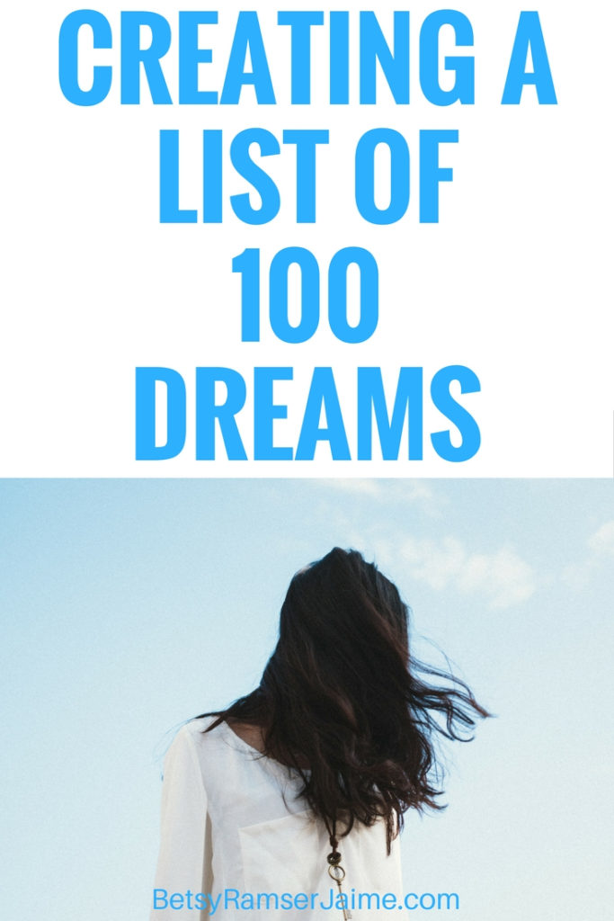 List of 100 Dreams