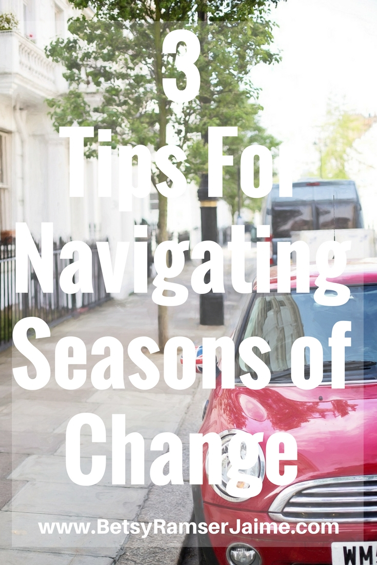 navigating seasons of change